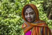 Kvinna med schal, Filippinerna