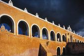 San Antonio kloster i Izamal, Mexico