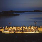 Utomhuskonsert vid Tjolöholm, Halland