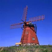Windmill at Mollösund, Bohuslän
