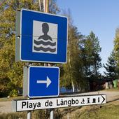Playa de Långbo, Hälsingland