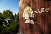 Graffiti - Fallskärmar för alla sjuksystrar