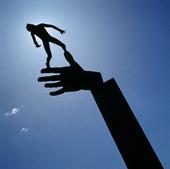 Staty Guds Hand av Carl Milles
