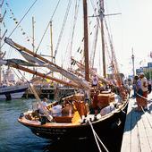 Segelfartyg vid Norra Älvstranden, Göteborg