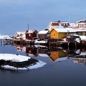 Björholmen, Bohuslän, vinter
