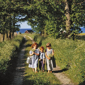 Barn på mindre väg