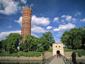 Old water tower in Kalmar, Småland