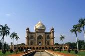 Mausoleum in New Delhi, India