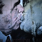 Kiss on the Berlin Wall