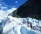 Glaciärvandring, Norge
