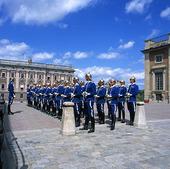 Högvakten Kungliga slottet, Stockholm