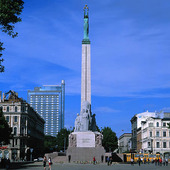 Frihetsmonumentet i Riga, Lettland