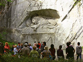 Wounded Lion Monument, Schweiz