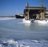 Vinter vid Önnered, Göteborg