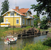 Säffle kanal, Värmland