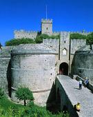 Port till Rhodos gamla stad, Grekland