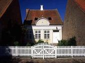Inklämt hus, Danmark