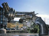 Skulptur Non Violence, Malmö