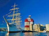 Barken Viking i Göteborgs hamn