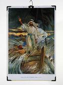 Skolplansch föreställande Jesus