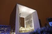Grande Arche i La Défense, Paris, Frankrike