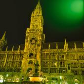 Rådhuset i München, Tyskland