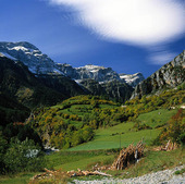 Monte Perdido i Pyrenéerna, Spanien