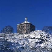 Skansen Kronan på vintern, Göteborg