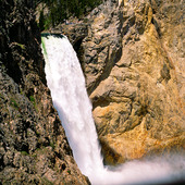 Lover falls i Yellowstone nationalpark, USA
