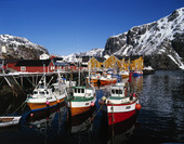 Henningsvaer in Lofoten, Norway
