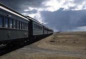 Tåg i Atacamaöknen, Chile