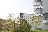 Bostadshus på Gärdet i Stockholm