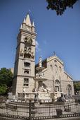 Katedralen i Messina på Sicilien, Italien