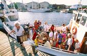 Skärgårdsbåt i Uddevalla, Bohuslän