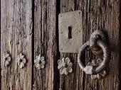Gammal dörr