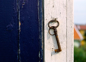 Nyckel på vägg