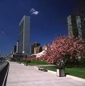 FN:s byggnad i New York, USA