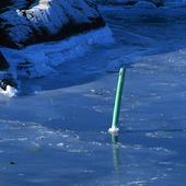 Sjömärke i is, Bohuslän
