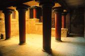 Knossos på Kreta, Grekland