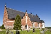 Österlövsta kyrka i Uppland