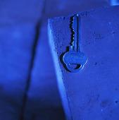 Nyckel på tegelsten