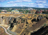 Falu copper, Dalarna