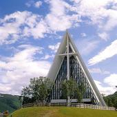 Ishavskatedralen i Tromsö, Norge