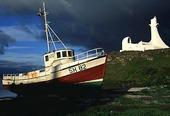 Fiskebåt, Island
