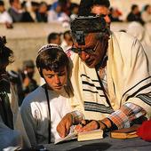 Konfirmation i Jerusalem, Israel