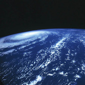 Satellitbild över Jorden