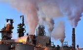 Rök från industri