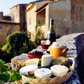 Ost och vin, Frankrike