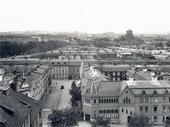 Utsikt från Redbergsplatsen. Göteborg 1930