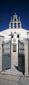 Kyrka på Naxos, Grekland